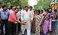 The Union Minister for Tribal Affairs, Shri Jual Oram inaugurating a Boy's Hostel of Vanavasi Kalyan Ashram, at Gayerkata, Jalpaiguri, West Bengal on October 30, 2015.jpg