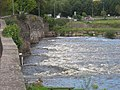 The Usk River, Abergavenny - geograph.org.uk - 255370.jpg
