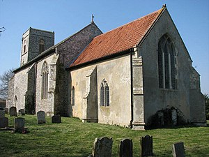 Calthorpe, Norfolk - Image: The church of Our Lady and St Margaret geograph.org.uk 866767
