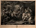 The death of Sir Philip Sidney at the battle of Zutphen; he Wellcome V0006947.jpg