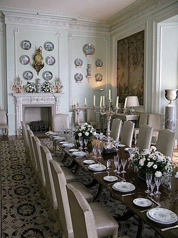 English: The dining room