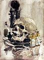 The five senses and death, Elizabeth Painter Wellcome L0031401.jpg