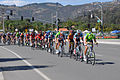 The peloton reenter the city of Escondido during Stage 1 of the 2013 Tour of California..JPG