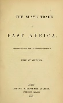 The slave trade of east Africa.djvu