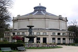 Théâtre Marigny - Théâtre Marigny from the gardens