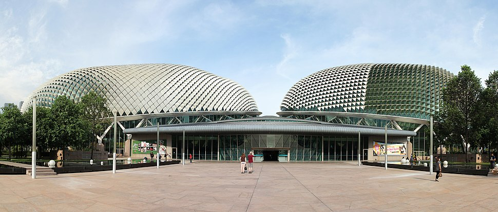 Theatre and Concert Hall, Esplanade – Theatres on the Bay, Singapore - 20110528