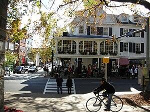 The Corner of College Avenue and Allen Street ...