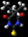 Thiobarbital molecule ball.png
