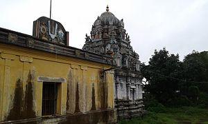 Thirukkavalampadi - Image of the sanctum and the vimana