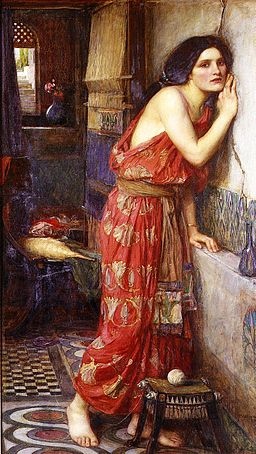 John William Waterhouse, Thisbe , 1909, Wikimedia Commons