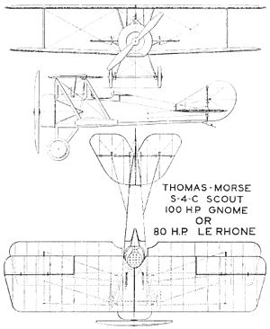 Thomas-Morse S-4 - Thomas-Morse S-4C drawing