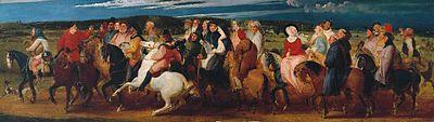 Thomas Stothard Canterbury Pilgrims 318 x 952 mm