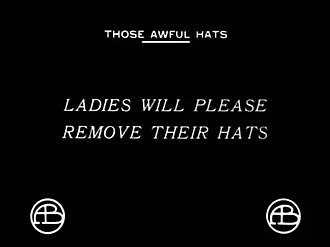 Those Awful Hats - End screen.