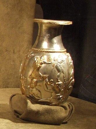 Borovo Treasure - Image: Thracian treasure Borovo Jug