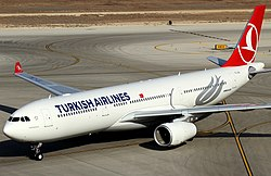 Un Airbus A330 de Turkish Airlines