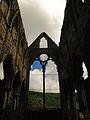 Tintern Abbey from the inside - window.JPG