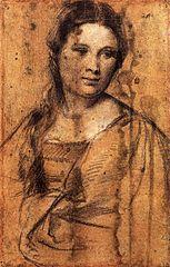 Retrato de mujer joven