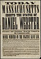To-day Massachusetts erects the statue of Daniel Webster freemen and Christians, read his counsel to the Commonwealth ... (7645377144).jpg