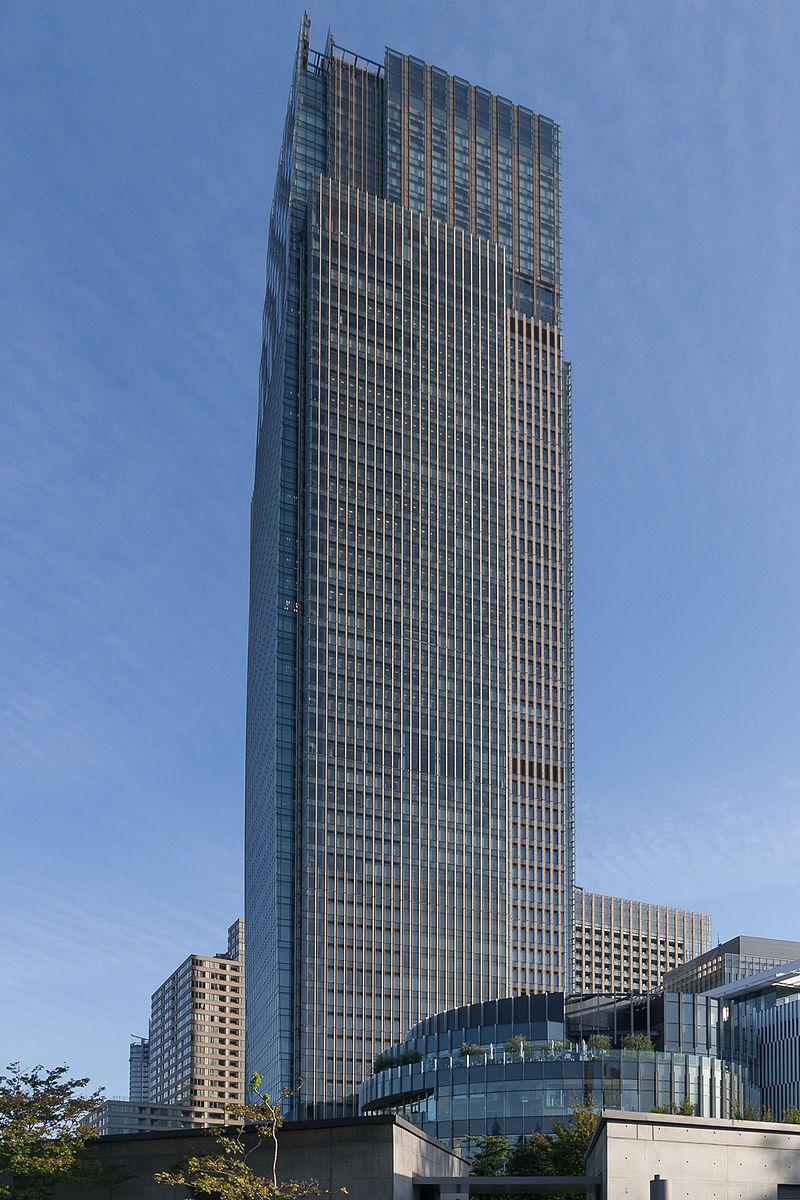 本社のあるミッドタウン・タワー