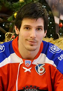 Tomáš Kubalík Czech ice hockey player