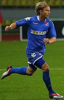 Tomáš Mičola Czech soccer player