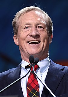 Tom Steyer American billionaire philanthropist and former hedge fund manager