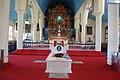 Tomb of Kuriakose Elias Chavara at St. Joseph's Church Mannanam.jpg