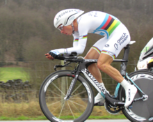Photo de Tony Martin sur son vélo.