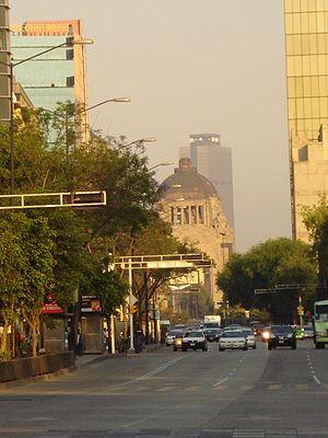 English: Pemex Tower in Mexico City. Español: ...