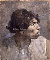 Toulouse-Lautrec - ETUDE D'HOMME, 1882, MTL.92.jpg