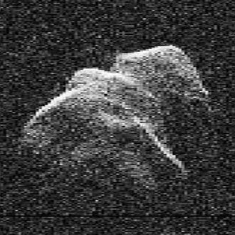 Near-Earth object - Asteroid 4179 Toutatis is a potentially hazardous object that has passed within 2.3 lunar distances