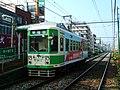 Tram at Arakawa Shato-mae (289749064).jpg