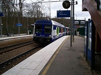 SNCF Class Z 6400 - Image: Transilien GCO Nois 2 stnom