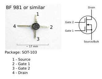 Multigate device - A dual-gate MOSFET and schematic symbol