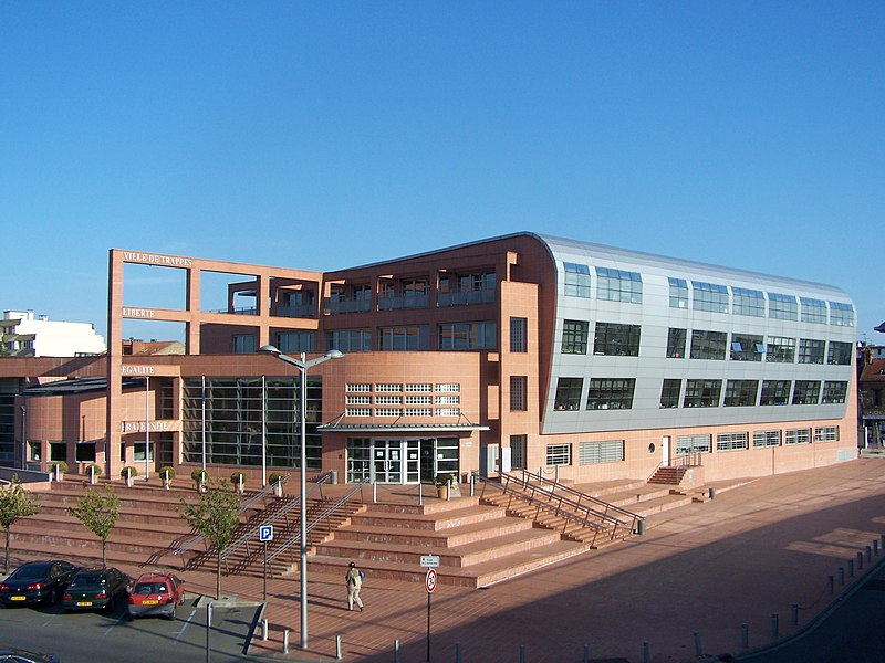 Mairie de Trappes (Yvelines, France)