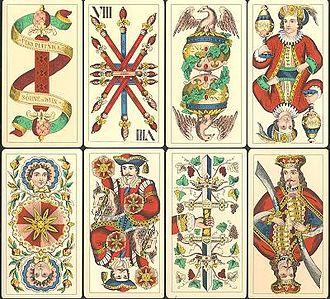 Trappola - Image: Trappola Cards produced in Wien, Austria, by Ferdinand Piatnik