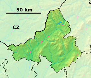 Ilava Town in Slovakia