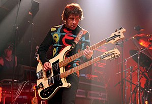 Pete Trewavas - Pete Trewavas onstage with Marillion at 2009 Montreal weekend festival.