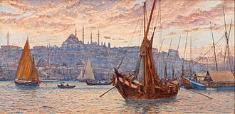 Tristram Ellis - Image: Tristram James Ellis The Golden Horn Google Art Project