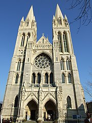 The west face of the Cathedral
