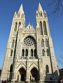 Truro Cathedral Simple English Wikipedia The Free