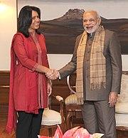 Tulsi Gabbard meets PM Modi