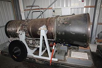 Tumansky R-25 - Tumanski R-25-300 engine in Karhulan ilmailukerho Aviation Museum