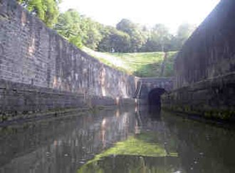 Scey-sur-Saône-et-Saint-Albin - Image: Tunnel de Saint Albin