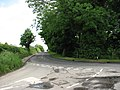 Tunstall Road meets Sandhole Road - geograph.org.uk - 820353.jpg