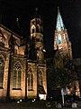 Turmfinale, Feier zum Abschluss der zwölfjährigen Renovierung des Münsterturms mit farbiger Beleuchtung 32.jpg