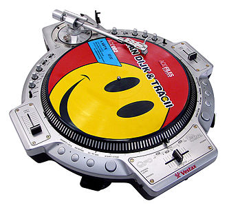 Vestax - DJ Turntable: QFO