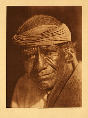 Jemez Pueblo, New Mexico - Tuvahe, photographed at Jemez Pueblo by Edward S. Curtis