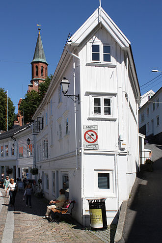 Tvedestrand - From the town centre of Tvedestrand