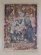 Tyniec - Klasztor - Kapitularz - Fresk 02.jpg